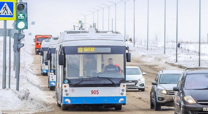 Появились новые сроки запуска троллейбуса № 10 в Чебоксарах