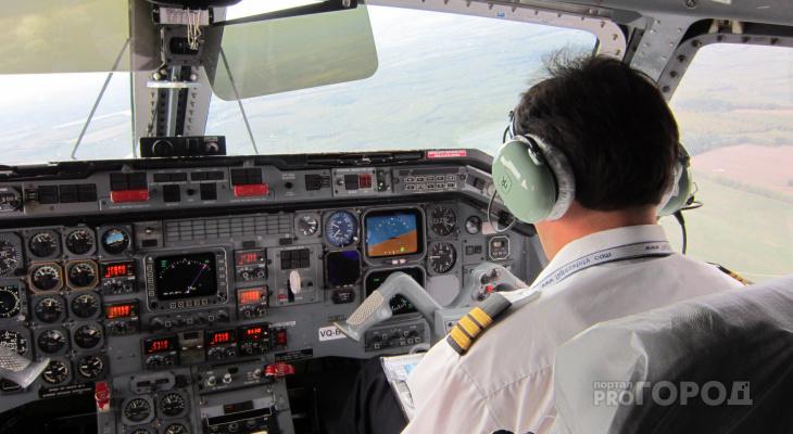 Семья с тремя детьми устроила скандал с экипажем самолета в Чебоксарах