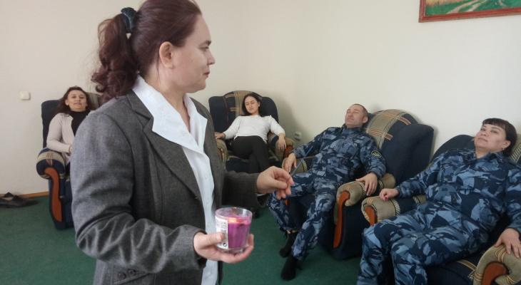 Сотрудники чувашской колонии снимают напряжение ароматерапией