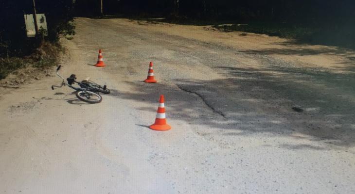 В Новочебоксарске оштрафовали бабушку, так как внук засунул ноги в колеса велосипеда