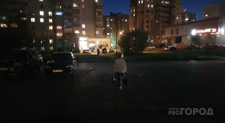 В Новочебоксарске три пешеходных перехода находятся в кромешной тьме