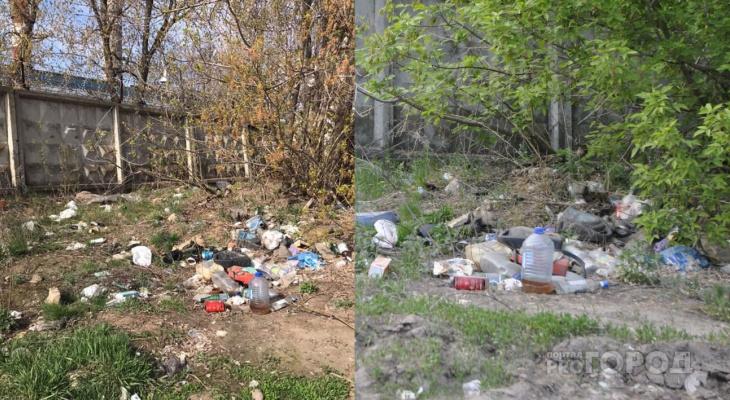 В Новочебоксарске стало чище, но в некоторых местах ничего не меняется