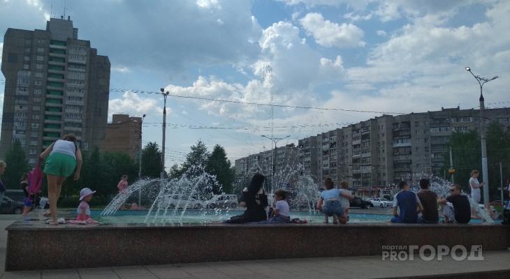 Чиновники призывают не купаться в новых фонтанах