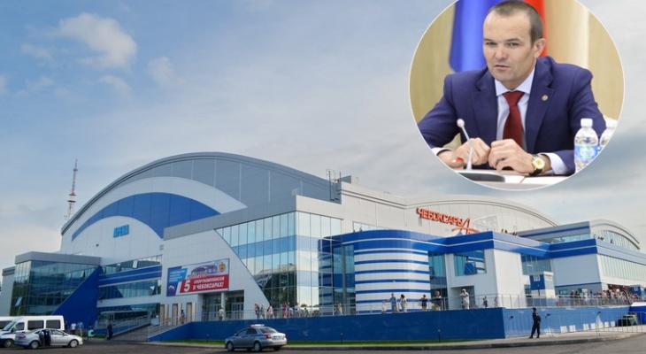 Игнатьев проведет крупную встречу с членом Госсовета Китая в Ледовом дворце