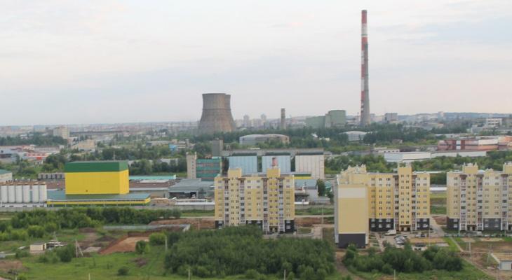 В Чебоксарах начался ремонт 250-метровой трубы ТЭЦ