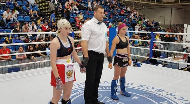 Студентка из Чебоксар завоевала Кубок мира по кикбоксингу