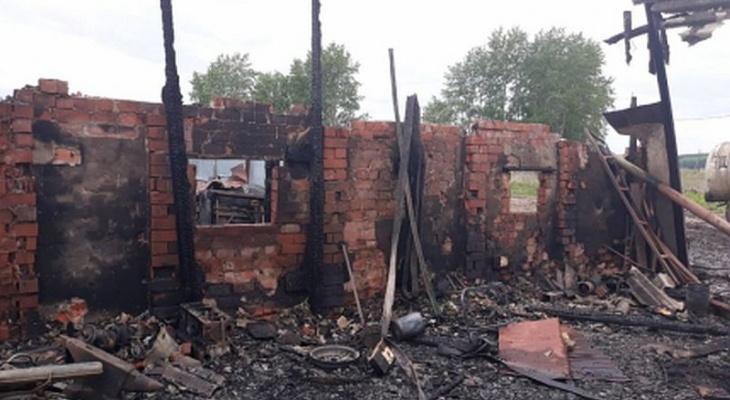 За сутки в Чувашии случилось 4 пожара, есть погибший