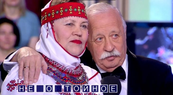 """Жительница Балашихи привезла на """"Поле Чудес"""" чувашский ансамбль"""
