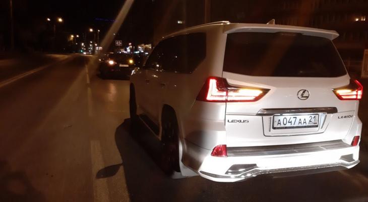 """В Чебоксарах задержали пьяного водителя """"Лексуса"""""""