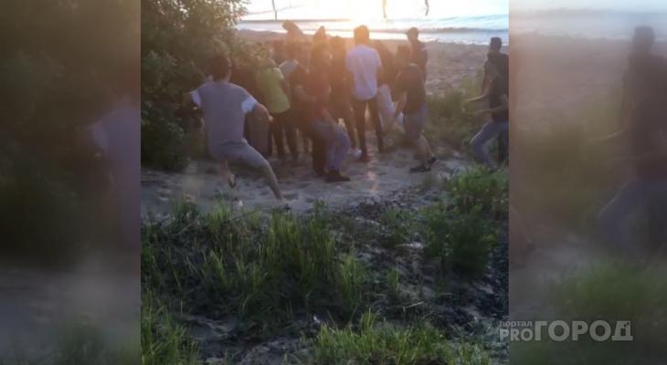 Друзья утонувшего иностранца устроили беспорядки, когда увидели тело