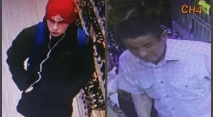 В Чебоксарах полиция ищет мужчину и юношу, совершивших преступления в магазинах