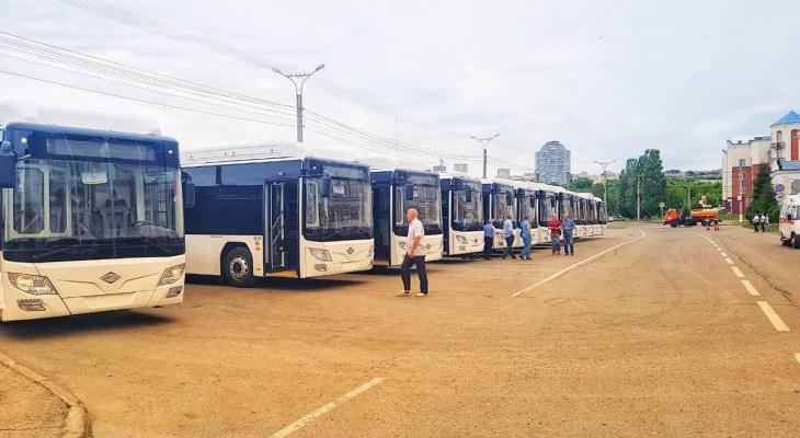 В Чебоксарах на маршрутах появятся автобусы с USB-розетками