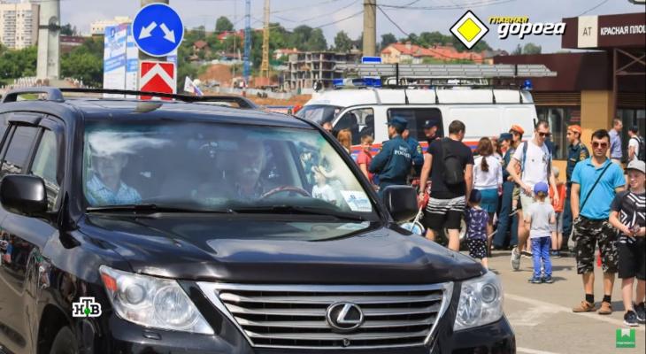 В Чувашии на Якубовича возбуждено три административных дела за езду по тротурам