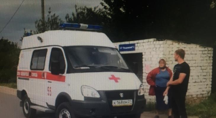 В Новочебоксарске водитель заехал на остановку и сбил женщину