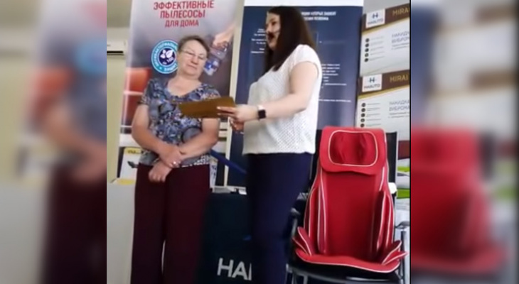 На Рен ТВ показали сюжет о продавцах массажеров за 200 тысяч рублей в Чувашии