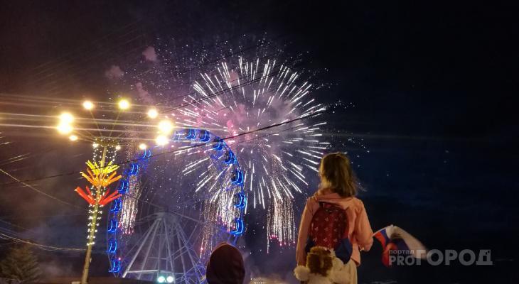 В Чебоксарах прогремел финал фестиваля фейерверков