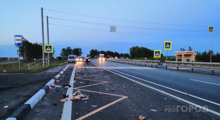 В Чувашии сбитый фургоном мужчина пережил дочь лишь на несколько часов