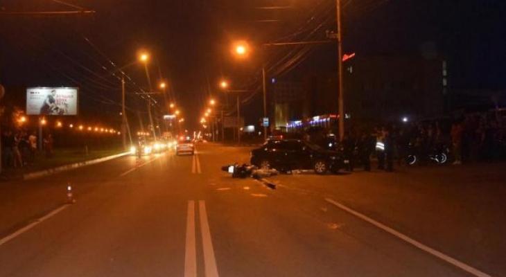 ДТП с мотоциклистом произошло накануне его экзамена в автошколе