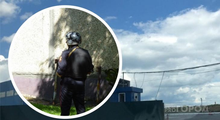 В Росгвардии рассказали о найденной в Новочебоксарске мине