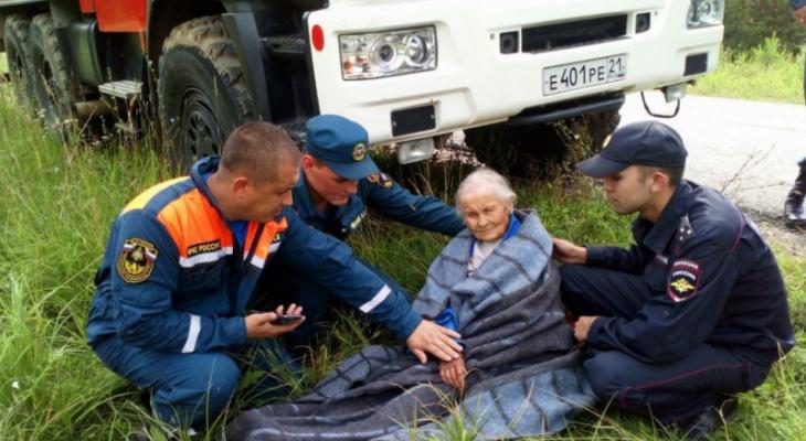 В Чувашии нашли женщину, которая провела без воды и еды двое суток в лесу
