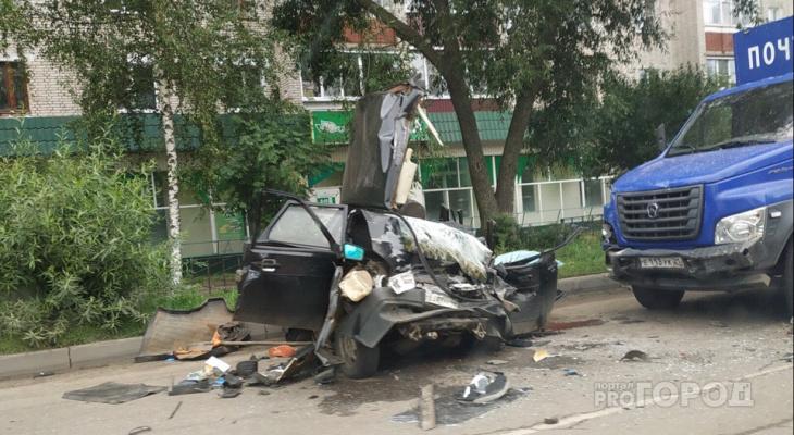 """В Канаше на """"девятке"""" разбились два брата"""