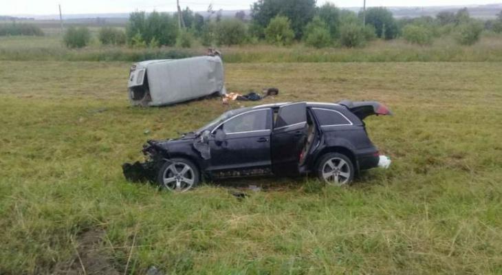 Водитель Audi после ДТП находится в бегах, заведено уголовное дело