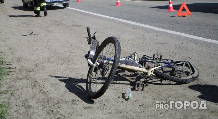 В Чувашии водитель «Приоры» сбил 13-летнего велосипедиста