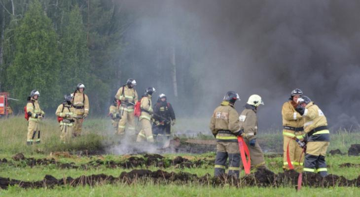 На тушение красноярских пожаров отправили 85 человек из Чебоксар