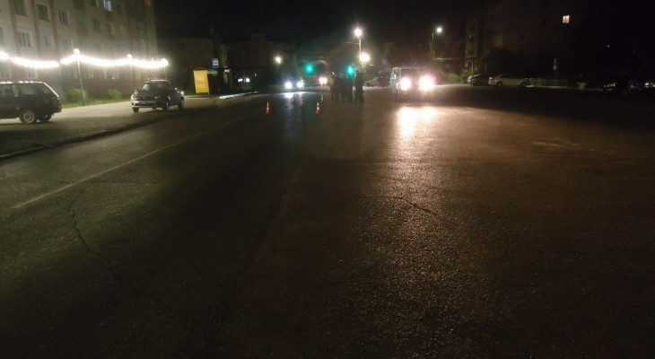 В Канаше наказали как сбитого пешехода, так и сбежавшего водителя