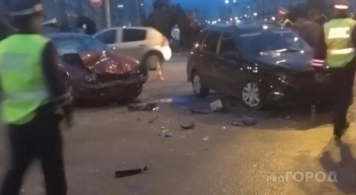 В Новочебоксарске в ДТП пострадали двое детей и женщина
