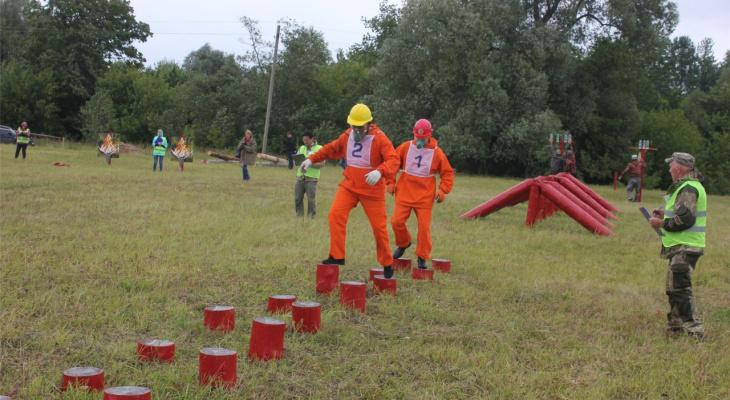 В Чувашии выбрали лучших лесных пожарных