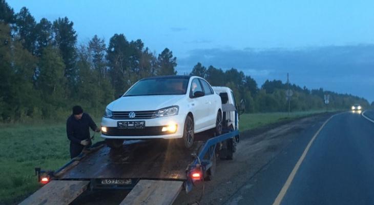 Житель Чувашии обмывал новый автомобиль и попался на нетрезвой езде