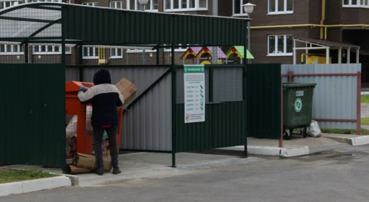Систему раздельного сбора мусора пока увеличат до восьми контейнеров на город