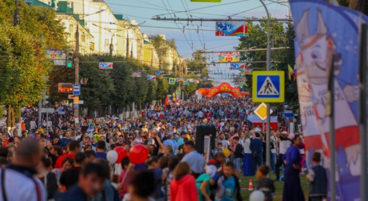 Появилась подробная программа юбилейного Дня города Чебоксары