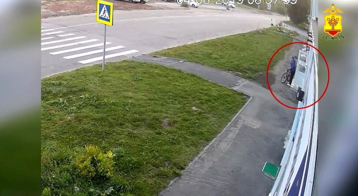24-летний чебоксарец выкрал велосипед из магазина и не заметил прицела видеокамеры