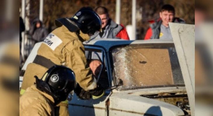 Автобус из Чувашии с 30 пассажирами попал в ДТП под Сызранью