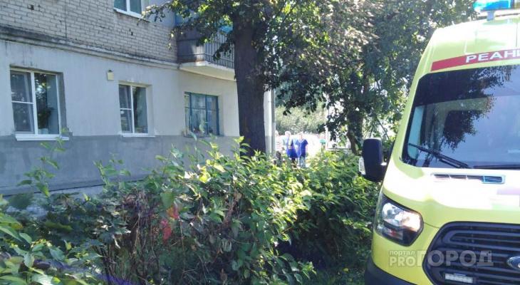 В Чебоксарах с балкона третьего этажа выпала женщина