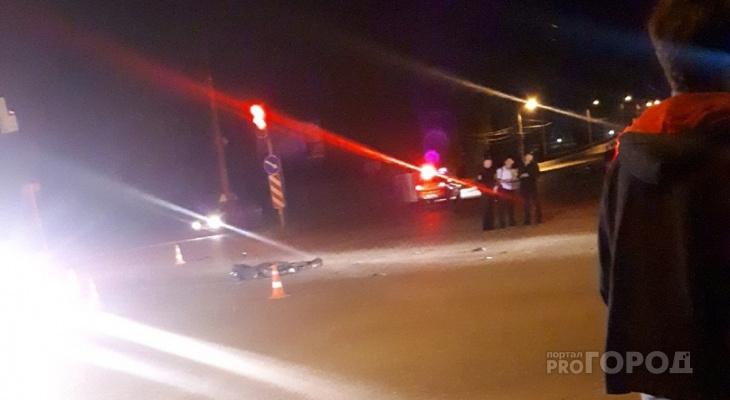 На проспекте Мира в ДТП погиб мотоциклист