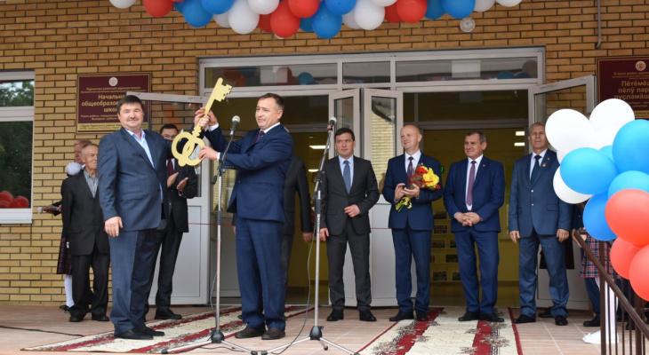 В Ядрине в День Города открыли новую школу