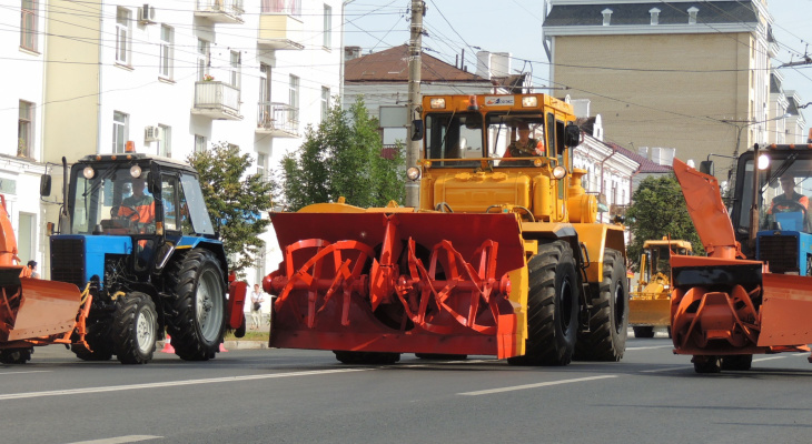 В центре Чебоксар снова перекроют дороги из-за репетиции парада техники