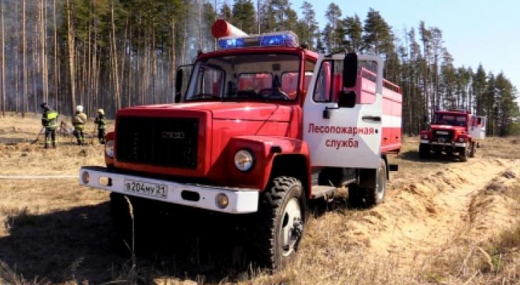В Чувашии объявили четвертый класс пожарной опасности