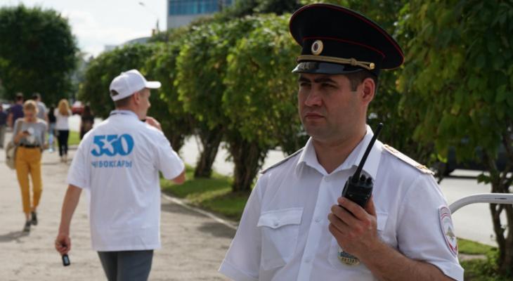 С празднования Дня города в отдел полиции доставили 9 чебоксарцев