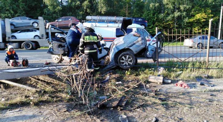 В Чувашии утром в ДТП погиб 26-летний парень