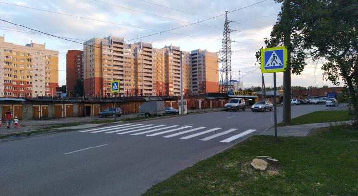 На чебоксарских дорогах появились новые знаки, разметки, ограждения