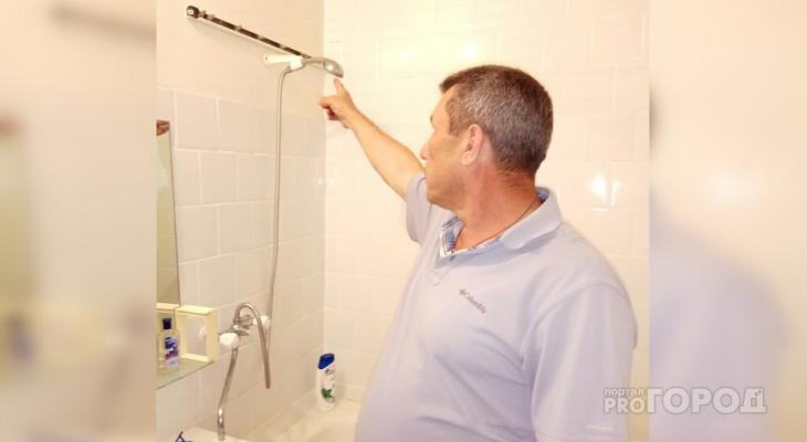 Чебоксарец вынужден мыться у соседей: в собственной ванне его бьет током
