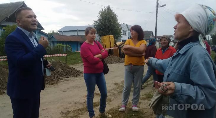 Жители Чувашии вышли на митинг из-за укладки газопровода в их деревне