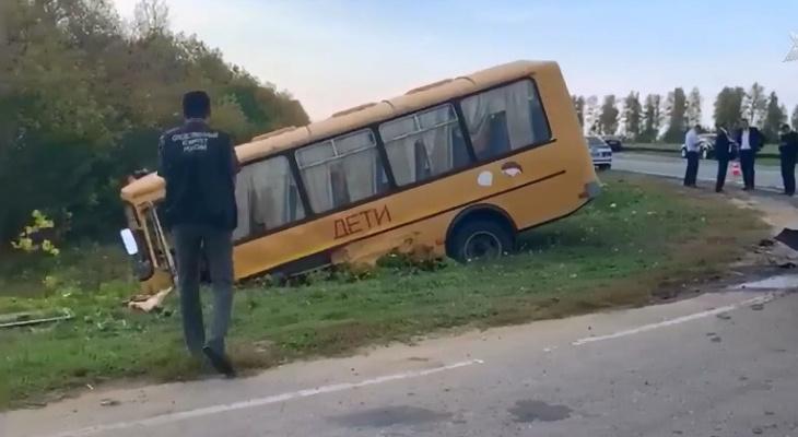 Следователи опубликовали видео расследования ДТП со школьным автобусом