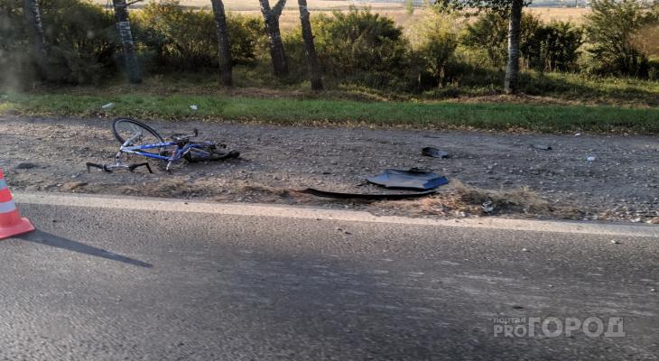 На Марпосадском шоссе велосипедист попал под колеса ГАЗели