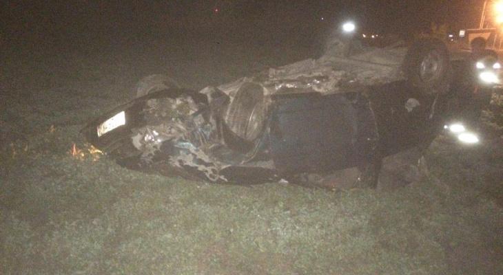 В Чувашии молодой водитель ночью вылетел в кювет и погиб
