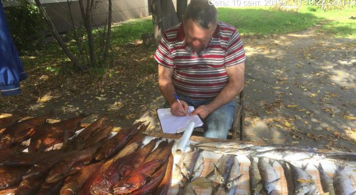 На улицах Чебоксар ловили незаконных торговцев меда, молока и рыбы